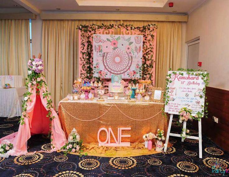 Boho Chic Birthday 1st Party