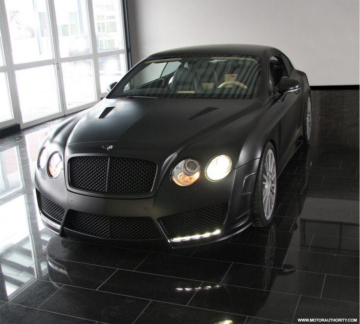 Mansory Bentley Gt Speed Matte Black Cars Pinterest