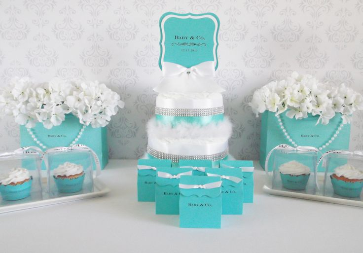 Our personalized bags make great centerpieces or photo props for your next Tiffany inspired bash! We laser print your personalized logo on quality matte labels and attach to both sides of our high qua