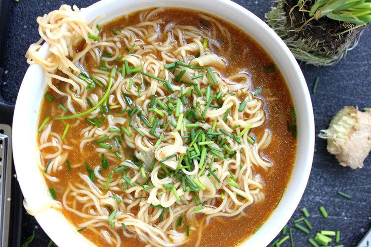 Gotta try this ramen recipe. Yum!
