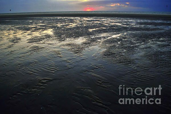 After a tide in Zeeland.