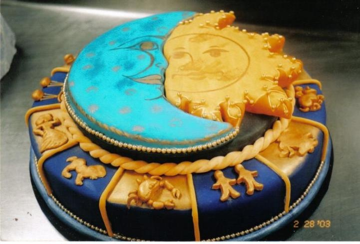 Solstice Cake for Yule or Litha