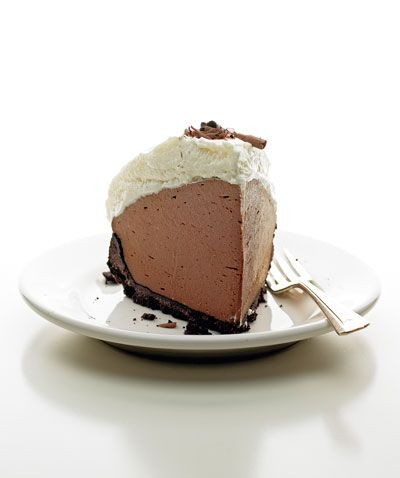 The mother of all chocolate cream pies! - Silky smooth and my what a beautiful pie!