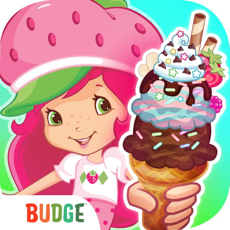 Strawberry Shortcake Ice Cream Island Kids App  Join Strawberry Shortcake™ and her friends on a berrylicious adventure to restore the island to its former glory! Drive your very own ice cream truck and prepare delicious treats from snow cones to milkshakes to banana splits. Scoop, swirl, shake and mix fabulous flavors and terrific toppings for all your customers to enjoy. It's time to bring back the sunshine!