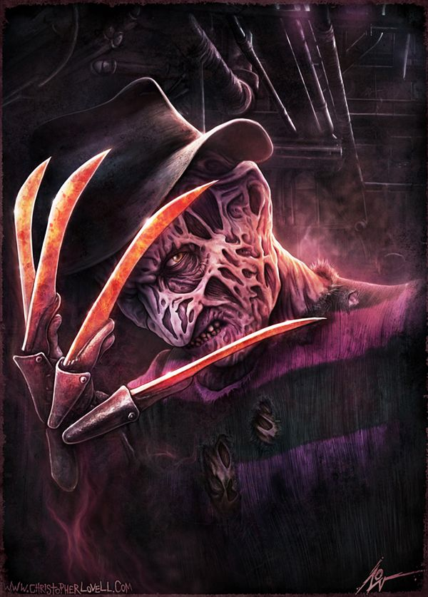Freddy Krueger - Christopher Lovell Art by ~Lovell-Art on deviantART