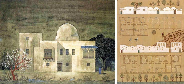 Floor Elevation Drawings : Hassan fathy pinterest search and