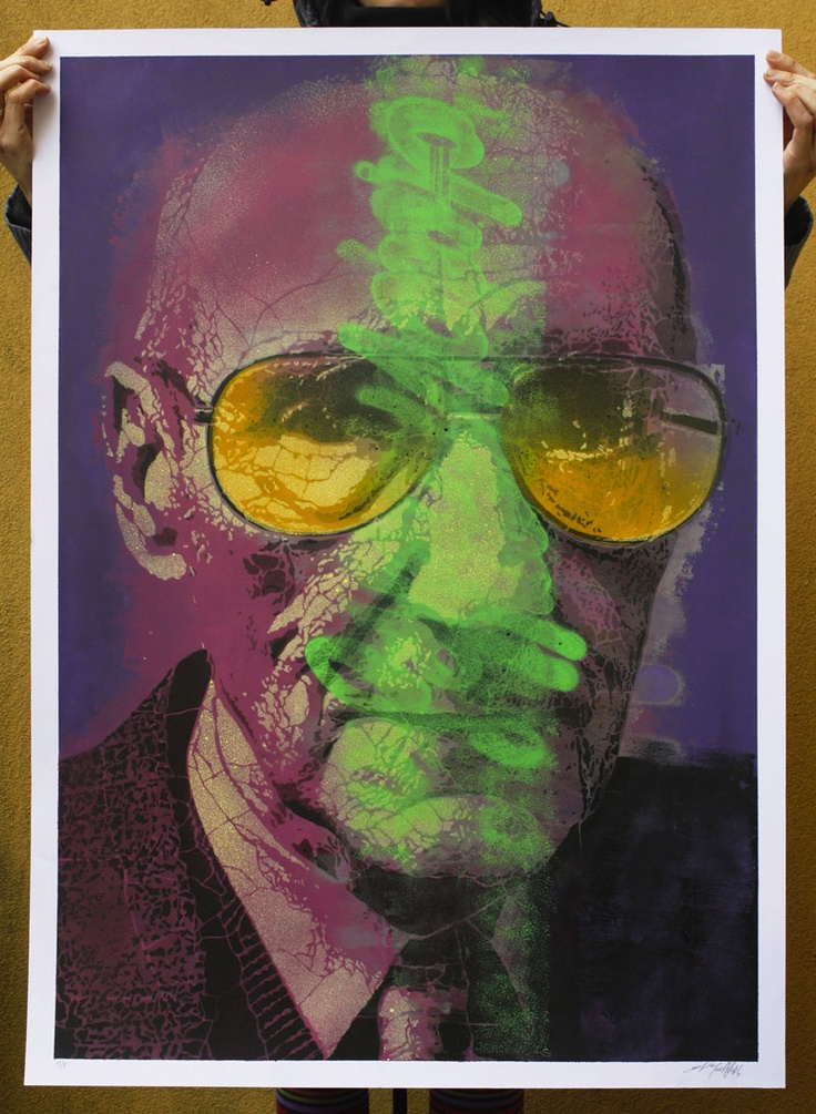 2012 | Williams Burroughs | portfolio of 15 original on paper, size 70x100 | 5/15