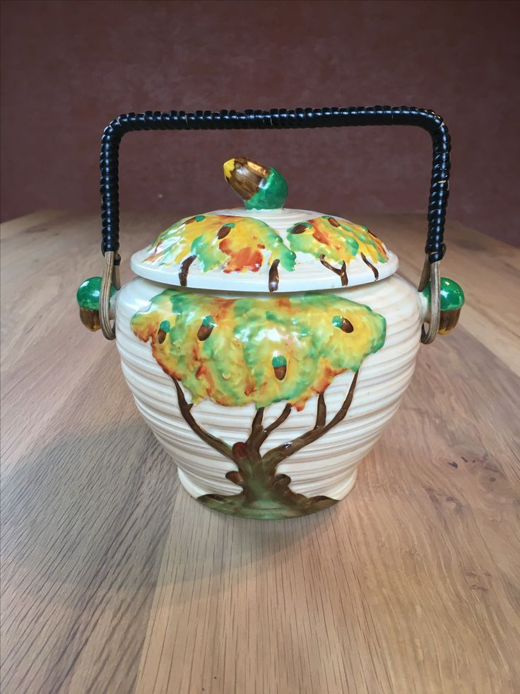 Carlton Ware Oak Cookie Jar
