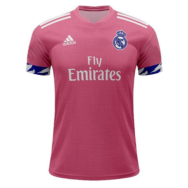 Real Madrid 2020 2021 Away Soccer Jersey new -pink in 2020 ...