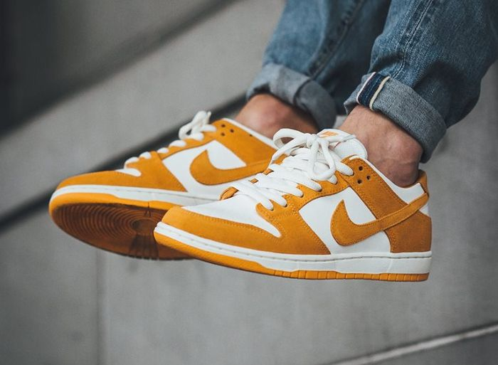 Nike Dunk Low Pro SB 'Circuit Orange'. Orange SneakersNike DunksReebok Original ...