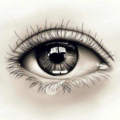 Realistic Eye Tattoo Idea
