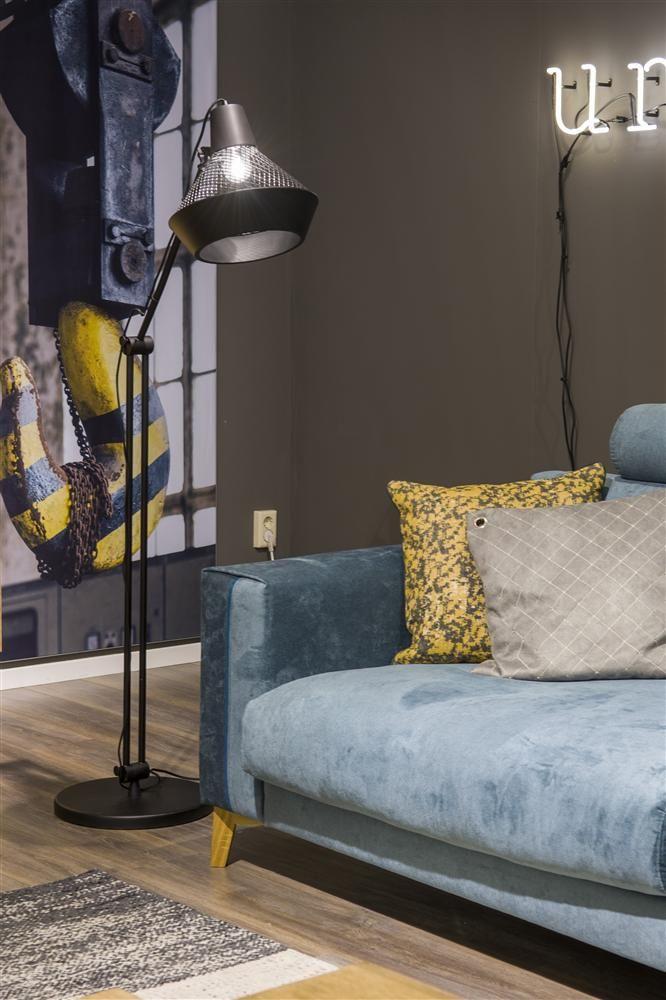 Vloerlamp Victor verkrijgbaar bij Korver Living in Sliedrecht  #vloerlamp #hendersandhazel #cocomaison #interieur