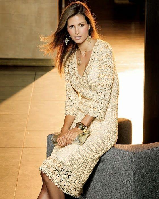Free Crochet Pattern for Stunning Karen Miller Dress
