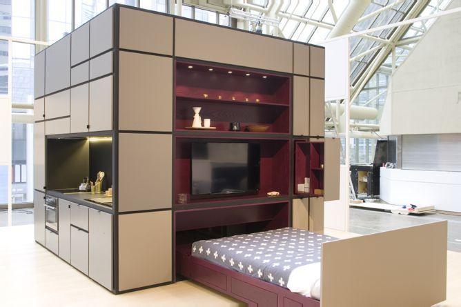 Cube Chambre © Urban Capital