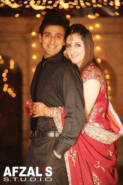 sami with wife