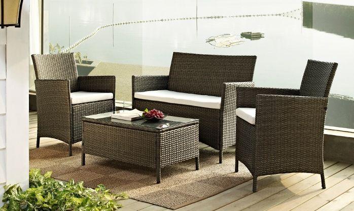 17 best ideas about rattan effect garden furniture on. Black Bedroom Furniture Sets. Home Design Ideas