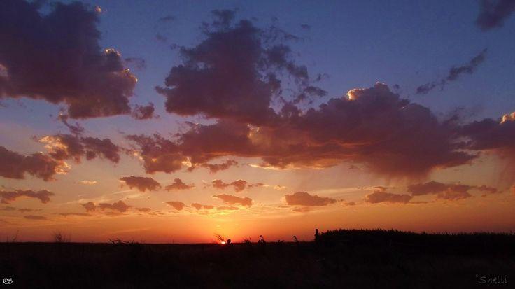 Oklahoma sunrise. photo by Shelli Fitzpatrick