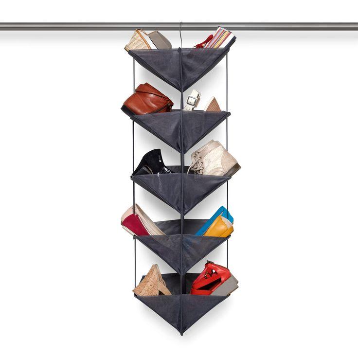 Smart förvaring där skorna syns väl. Här har du lösningen, en tillfällig eller permanent skohylla med plats för 20 par skor att hänga där du mest behöver den.