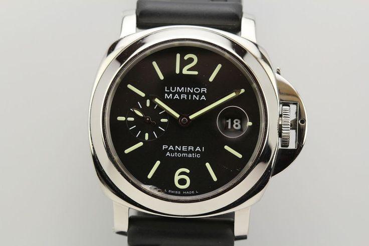 Panerai Luminor Marina Automatic Dive Watch PAM 104 44mm L Series