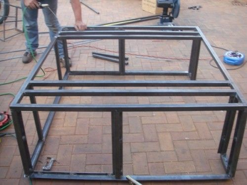 42 best images about c pula on pinterest 4x4 600 and for Build your own canopy frame
