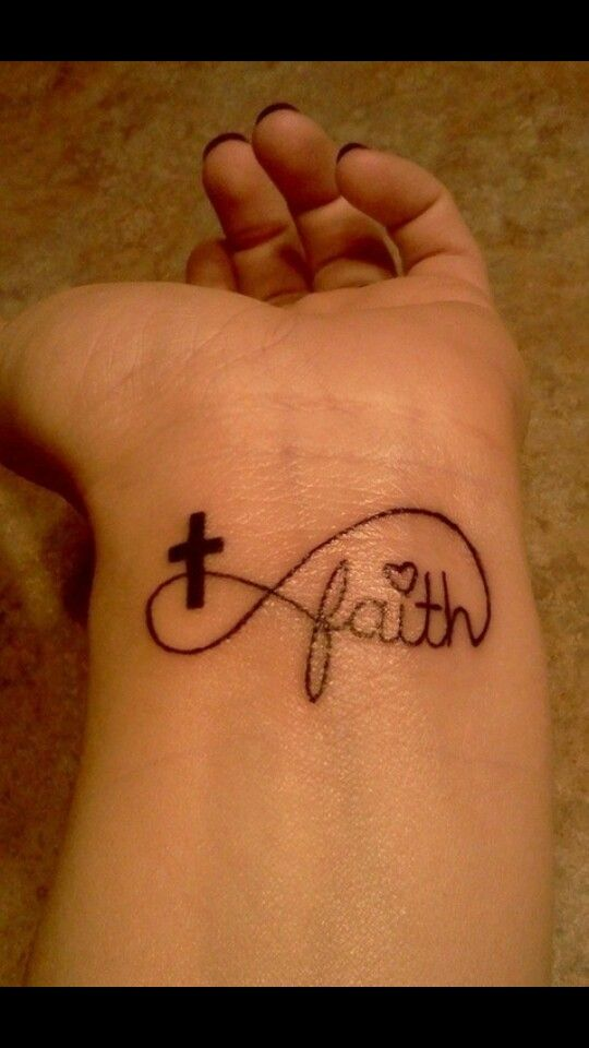 Faith infinity + cross