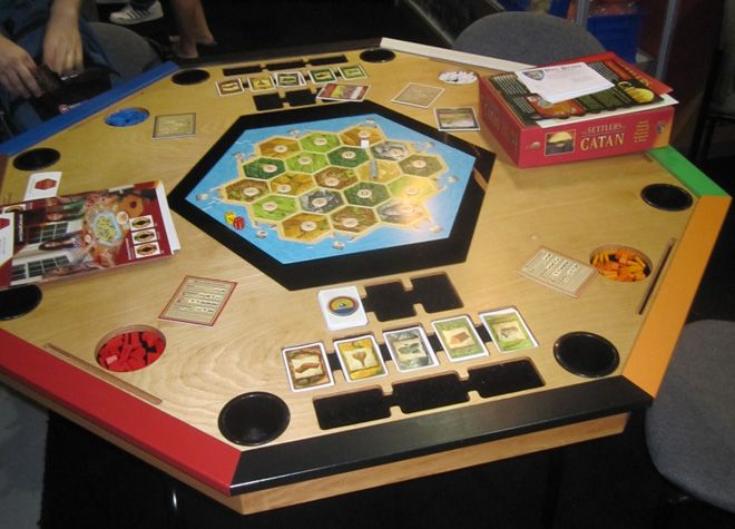 Settlers Of Catan Table | I Want...please | Pinterest | Gaming, Board And  Wood Working