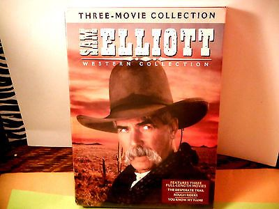 SAM ELLIOT:3 FILM WESTERN COLLECTION-BRAND NEW/SEALED 3 DVD SET+FAST/LOW SHIP!