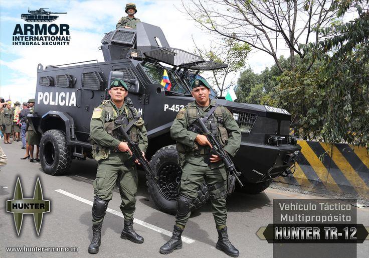 Vehículo Táctico en Desfile Militar | Armor International ::: Blindajes de máximo desempeño
