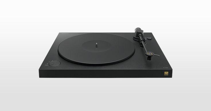 Nowy, zaawansowany gramofon (PS-HX500)