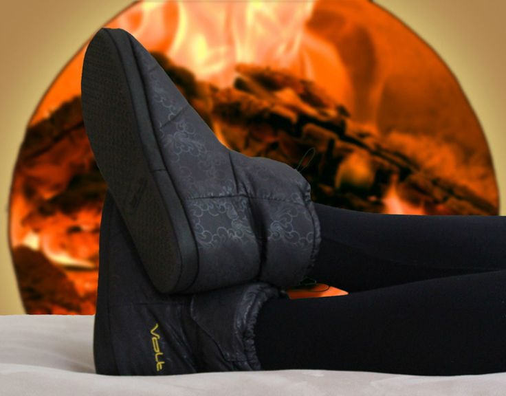 Volt Heated Slippers Say Goodbye To Cold Feet