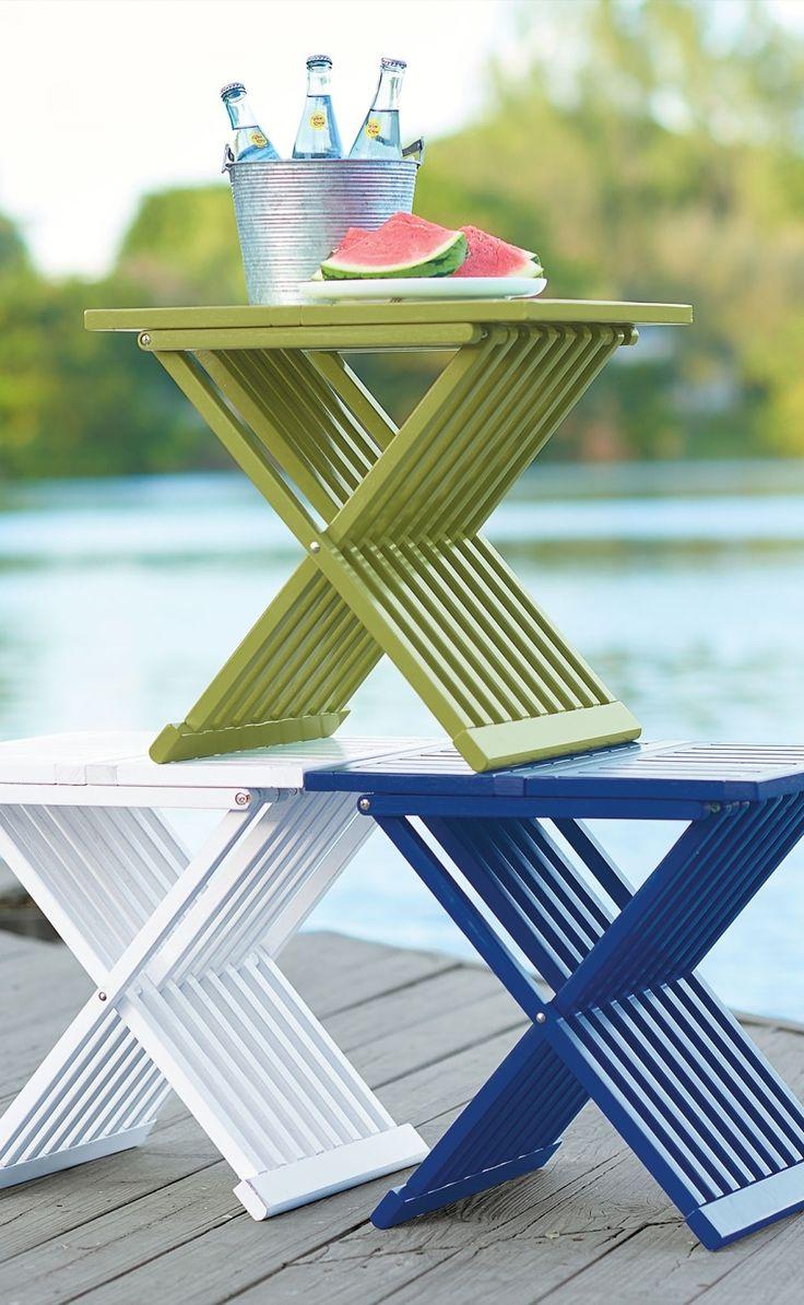 Farrah Outdoor Folding Table Folding Tablesthe Great