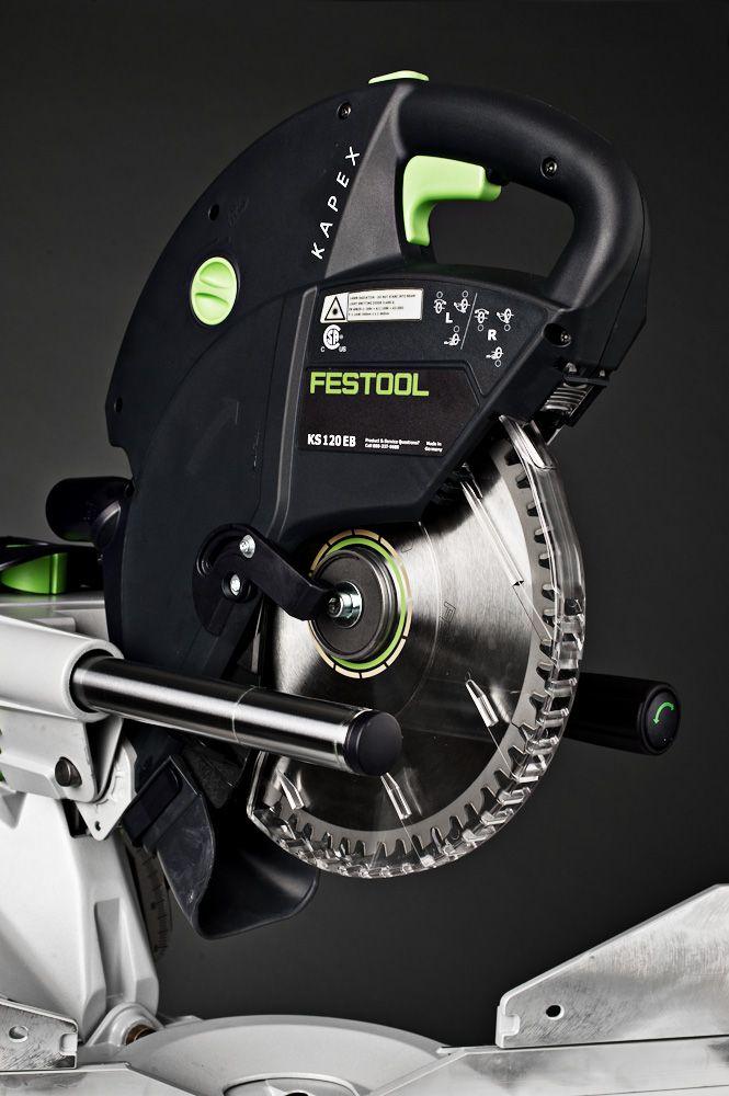 Festool Kapex Miter Saw guide rails and laser