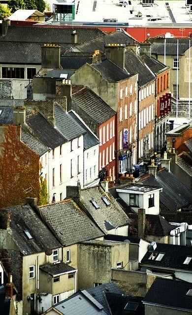 Old Irish Neighborhood.. Ireland (by PhotoFly Travel Club on Flickr)