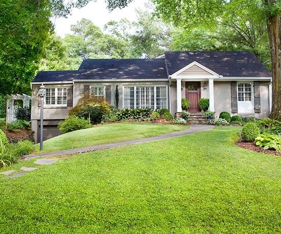 242 Best Ranch Style Home Makeovers Images On Pinterest | Exterior Remodel,  Painted Bricks And Ranch Exterior