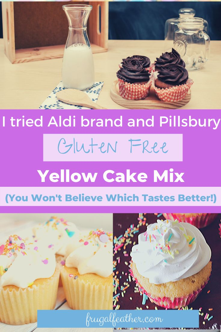 Could aldis gluten free cake mix actually be better than