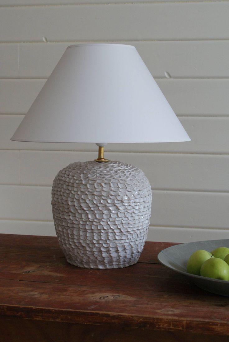 Hand made beehive lamp