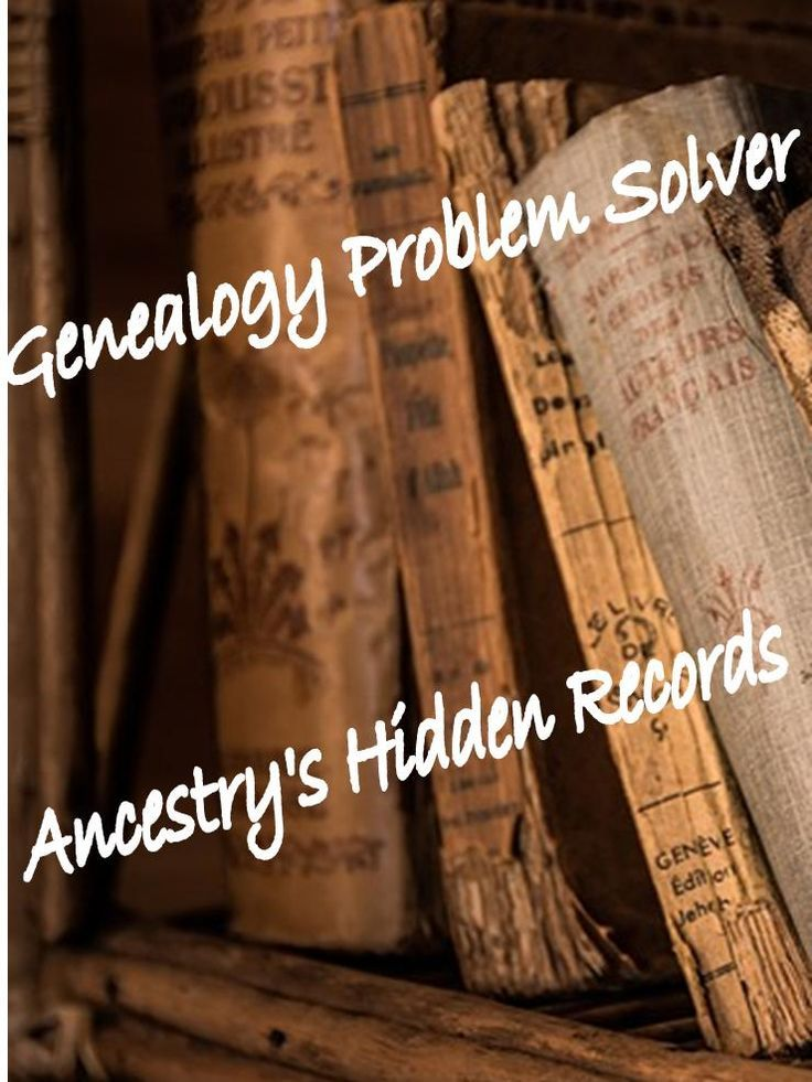 Did you know that not all the records on Ancestry are indexed? And did you know that a lot of these records even if they are searchable by name won't come up on your searches or as a Green Shaky Leaf?