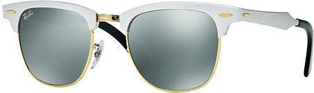 Ray-Ban Aluminum Clubmaster Sunglasses as seen on Lily Aldridge