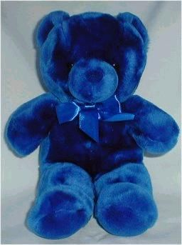 609 best my favorite teddy bear images on pinterest teddybear stuff a plush dark blue bear thecheapjerseys Choice Image