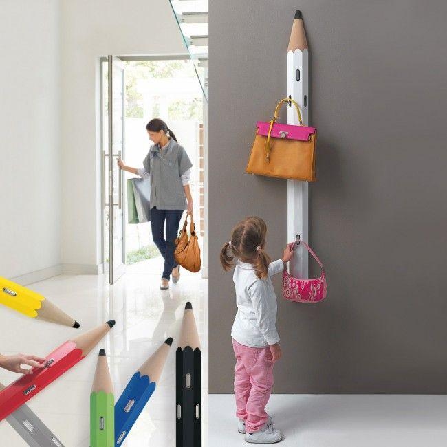 Oltre 20 migliori idee su appendere gli abiti su pinterest - Attaccapanni a muro ikea ...