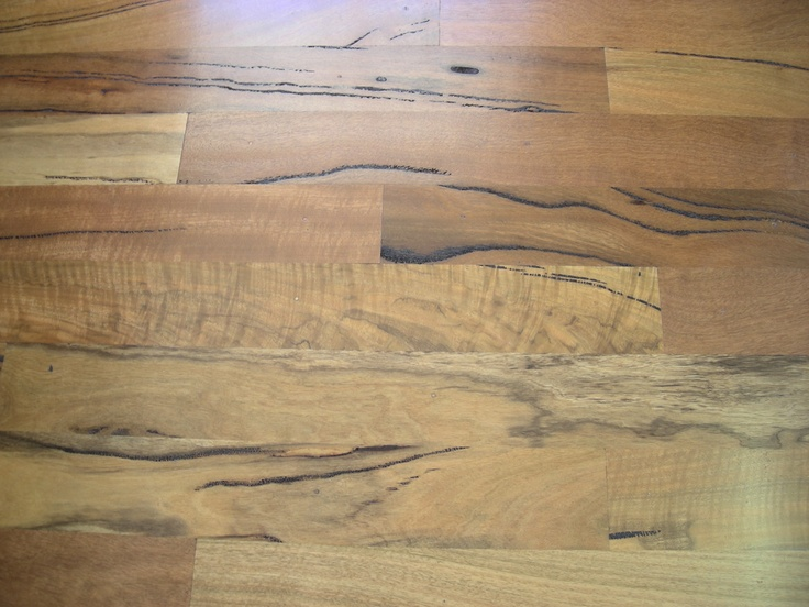 I am a victim for Marri, Western Australian timber, shown here in flooring. Incredible.
