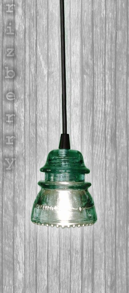 70 best mason jar hanging lights images on pinterest for Insulator pendant light