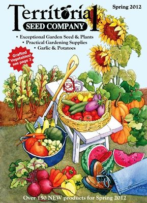 The New Territorial Seed Company Catalog Ships During Last Week Of December To Give Gardeners