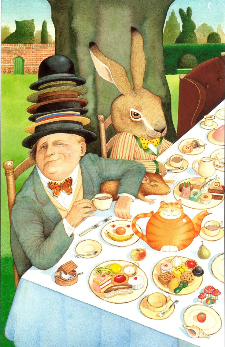 Anthony Browne: how I re-imagined Alice in Wonderland | Children's books | The Guardian