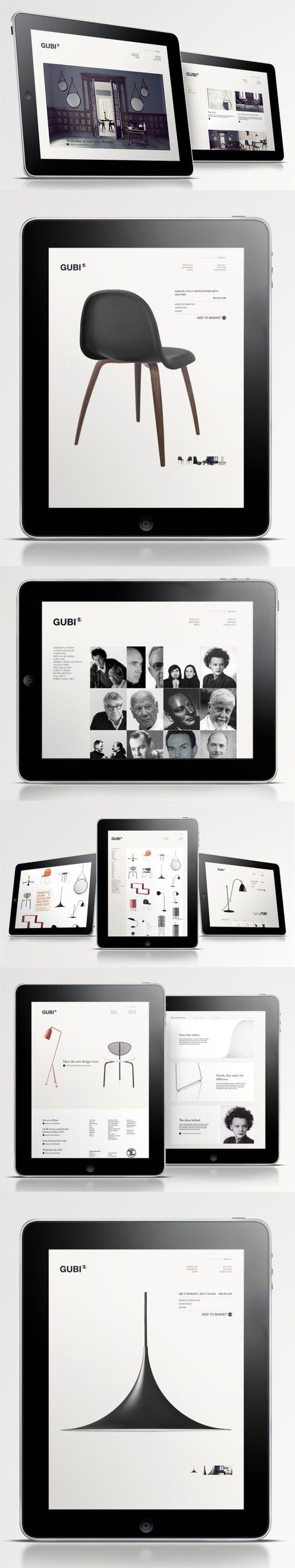 furniture websites design designer. gubi website for a furniture manufacturer design uiux apps websites designer i