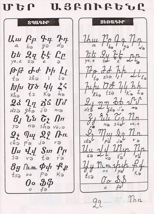 Picture | Armenian Language | Armenian language, Armenia ...