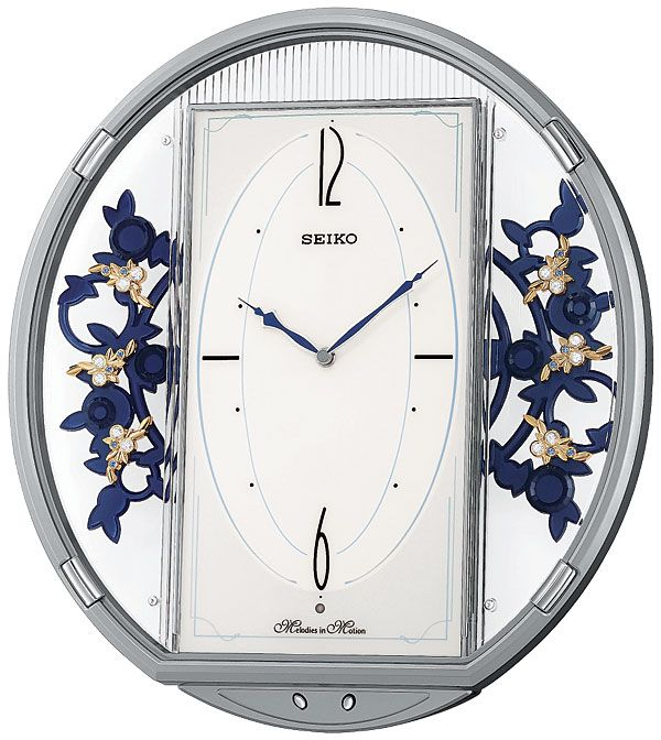 12 Best Seiko Wall Clocks Melodies In Motion Images On
