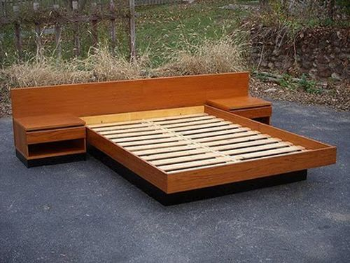 simple wood bed frame designs conceptjpg 500375 wood bed pinterest