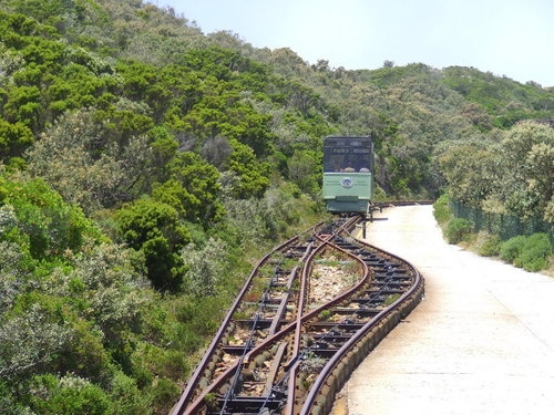 Flying Dutchman Funicular Train to the Lighthouse at Cape Point