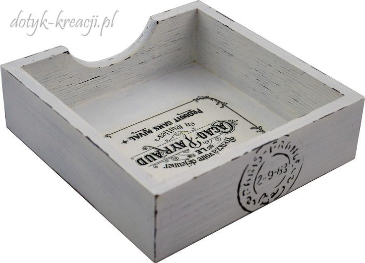 Serwetnik vintage